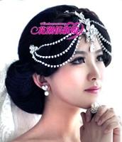 wedding accessories Bohemia bride rhinestone hair accessory hair accessory dance style