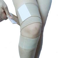 sports bandage brace Sports kneepad flanchard spirally-wound type adjustable kneepad knee breathable elastic bandage kneepad