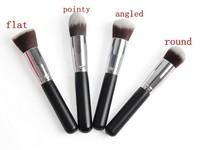 Big Discount! 4pcs Professional Synthetic Kabuki Liquid Foundation Powder Brush  Makeup Cosmetic Brush Fshow