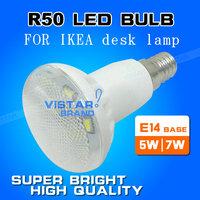 R50 LED LAMP e14 led bulb for IKEA desk lamp 5w 7w 110v 220v 230v 240v ceramic body epistar SMD high quality free shipping