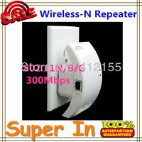 2013 hot sale Wireless-N Wifi Repeater 802.11N/B/G 2dBi 300Mbps Support US/EU/AU Plug Network Wireless-N Repeater free shipping