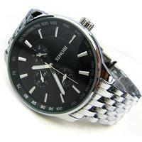 Free Shipping Promotion Sinobi Luxury Brand Watches Men Quartz Wrist Watch Korean Fashion Sports Genuine Men's Watche