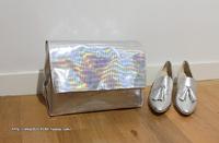 new 2013 brand designers fashion laser silver day clutch women solid handbags luxury harajuku party evening bags ladies bolsas