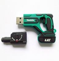 Free shipping,Wholesale Genuine 2G-32GB Hot sale Rubber Gun model 2.0 Memory Stick Flash Pen Drive LU350