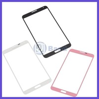 100pcs/lot For Samsung Galaxy Note 3 N9000 White Blue Pink Gray Front Glass Lens Outer Touch Screen DHL Free Shipping