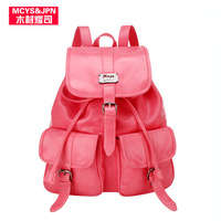 2013 women's backpack handbag all-match fashion casual backpack school bag man bag all-match with free shipping