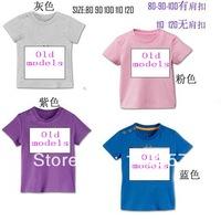 2013 children's t-shirt short sleeve sport t shirt 4 colors in stock 5pcs/lot spotswear summer wear boys girls clothing clothes