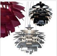 EMS Free Shipping Hot Selling Louis Poulsen PH Artichoke Lamp ,120v/230v Denmark pendant light Dia 80cm