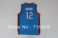 # 12 Steven ADAMS new fabrics blue basketball jersey