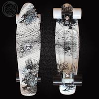 Free Shipping Penny Skateboard Original Banana shapes mini Cruiser long skates boards complete good Quality longboard DIY color