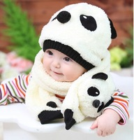 [CA] new 2013 Hat child infant autumn and winter scarf hat twinset fashion hats for baby hot selling children hats