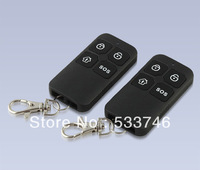 C256 Wireless Remote Control Controller Keyfobs Keychain 433MHz 2pcs For Our Alarm System