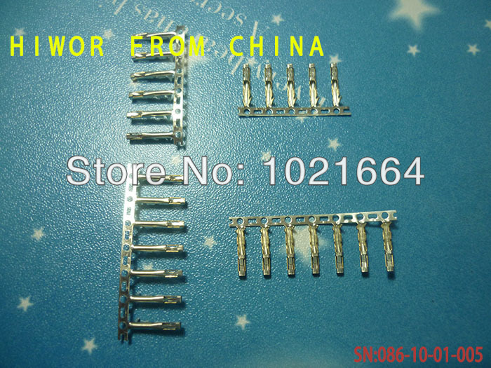 (1000pcs/lot)(connectors|dupont) Dupont Female Terminal /plug jumper Wire Cable Housing Female Pin, Pitch:2.54MM/0.1inch(China (Mainland))