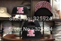 SNAPBACK  Fuck the system leopard print baseball cap hip-hop hat hiphop board cap