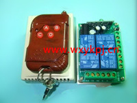 DC12V 4CH RF wireless remote controlled electrical switch 315mhz/433mhz transmitter and receiver moudle
