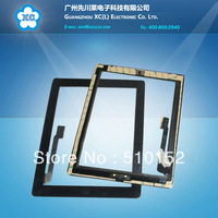 Original Touch panel For iPad 3 digitizer touch screen with home button replace