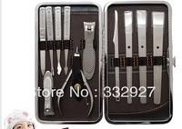 Stainless steel pedicure knife peeling knife finger nail clipper plier set finger cut pedicure nail art tool