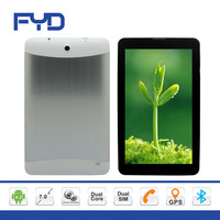 KT88 7 inch HD Capacitive touch screen MTK 6572 Dual core Dual Sim android 4.2 Bluetooth GPS built in 2G tablet pc