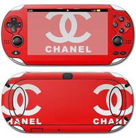 Red Vinyl Decal Sticker for PSP Series, for VITA sticker.
