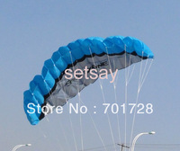High quality Soft Kite 2.5m Dual Line Power soft kite stunt kite