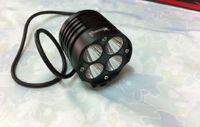 SolarStorm X T40 intelligent Power Indicate Bike light 4 x CREE XML U2 LED  2800LM Bicycle HeadLight HeadLamp