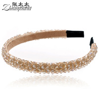 Accessories handmade crystal elegant hair bands hair accessory fashion hair pin headband hair accessory c004