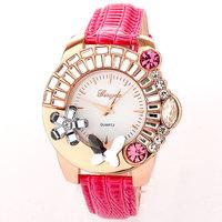 Luxury Diamond Rhinestone fashion watches women dresses watch butterfly Flower relojes de colores Free Shipping Wholesale