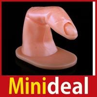 rising stars [MiniDeal] 1 x Insert False Nail Art Practice Training Tool Finger Hot hot promotion!