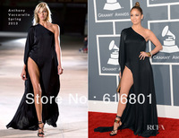 Jennifer Lopez In Anthony Vaccarello 2013 Grammy Awards Red Carpet Party Celebrity Dresses