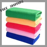 [TOWEL] 30*70cm 50g 10pcs/lot Multifunctional Towel Super Dry Bath Towel Microfiber Magic Hair Towel Ultra Absorbent & Soft Lint