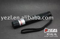 FREE SHIPPING YEZL 303 200 MW Green Laser flashlight lock switch with starlight fire match(1)