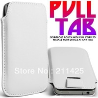 For LG E960 For Google Nexus 4 For Samsung Galaxy Nexus i9250 Case Cover Hot PU Leather Sleeve Bag Pull Tab Pouch Case Cover