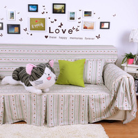 Simple and convenient 100% COTTON sofa cover 2013