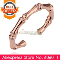 Min 10 piece/lot Elegant 18K Rose Gold Crystal Bangle Z023 for Women, Free Shipping