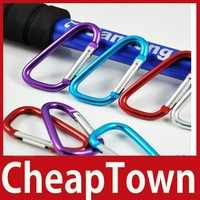 excellent fancy [CheapTown] 5 X Aluminium Carabiner Camping Hiking Hook Keychain D Save up to 50% worldwide economically