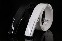 2014 The new fashion of high-grade leather belt noble men belt cowhide smooth buckle belts