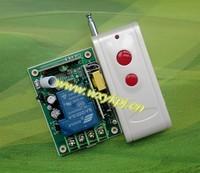 Hot sale AC85V~ 250V 30A 1CH RF 3000W 1000M RF Wireless Remote Control Switch System Kit 110V 220V For Home light