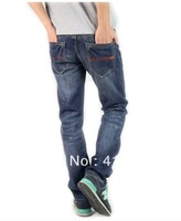 28-38#JYU8081,Free Shipping,New 2013 Summer-Autumn-Winter Jeans Men,Fashion Men's Brand Jeans,Button Straight Cotton Denim Jeans