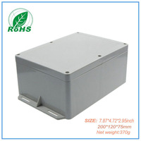 Plastic enclosure case electronic box for abs plastic case pedal 200*120*75mm  7.87*4.72*2.95inch