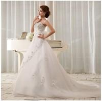 Free shipping 2014 new fashion sweet vintage bandage tube top plus size princess bride mermaid wedding dresses vestidos de novia