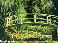 Hand Painted Famous Landscape Oil Painting Claude Monet Nimphee on Canvas FREE SHIPPING