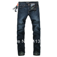 28-38#JYU238,Free Shipping,New 2013 Summer-Autumn-Winter Jeans Men,Fashion Men's Brand Jeans,Zipper Straight Cotton Denim Jeans