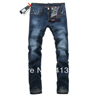 28-38#JYU239,Free Shipping,New 2013 Summer-Autumn-Winter Jeans Men,Fashion Men's Brand Jeans,Zipper Straight Cotton Denim Jeans