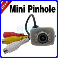 Wired Pinhole Color Night Vision CCTV Mini Camera HK S-06
