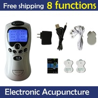 Christmas Promotion Good quality Tens Acupuncture Digital Therapy Machine Massager Free shipping