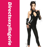 2013 Fashionable Women's Jumpsuit   Black Panther Costume LC8744  Free Shipping