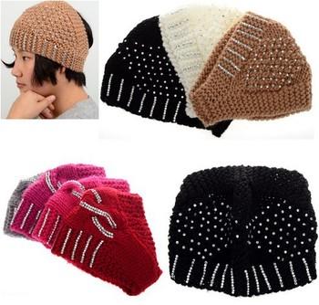 Supplies - Girls Headbands - Girls Crochet Headbands