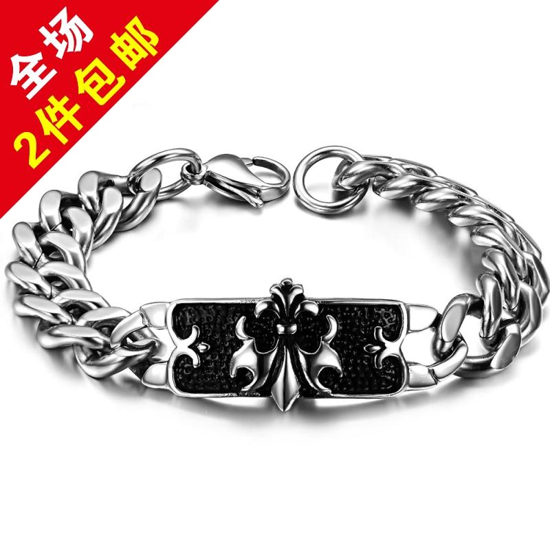 silver bracelets for baby boys fashion jewelry classic medical alert bracelets titanium 1d bracelet gs616(China (Mainland))