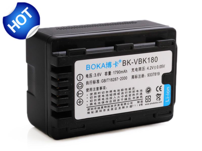Аккумулятор для фотокамеры BOKA 3.6V 1790mAh Panasonic sdr/h100ep sdr/h100eg sdr/h100gk sdr/h100gt sdr/h100k sdr/h100p SDR-H100P камера панасоник sdr h21 батарейку
