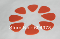 0.6mm Orange Standard DELRIN Guitar Picks Plectrum Blank Without Logo